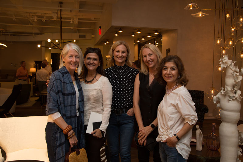 Rose Kipper, Nikie Barfield, Sherry Hart, Pam Sessions and Sudi Rafizadeh