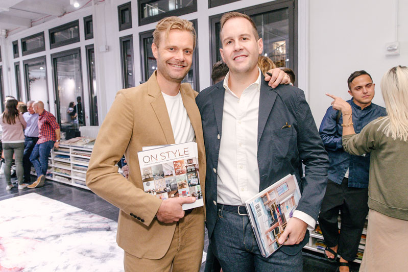 Two of the young designers featured in 'On Style': Miles Redd's new business partner, David Kaihoi, and Seattle-based designer Brian Paquette.