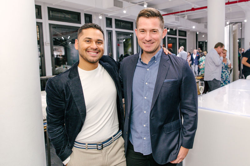 Designers Erick Espinoza and Nick Olsen, both of whom have projects featured in 'On Style'