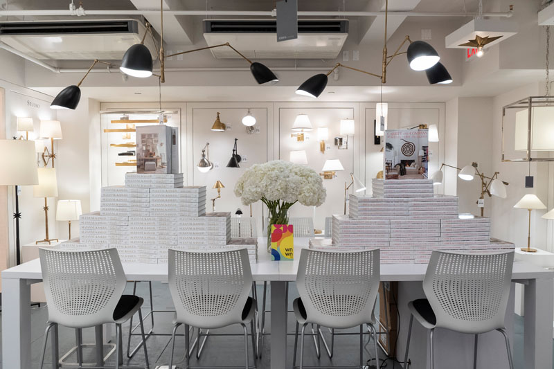 The Circa Lighting showroom at the New York Design Center