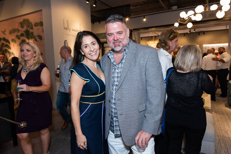 Michelle Castagna of Muse Design and Gage Hartung of Shuster Design