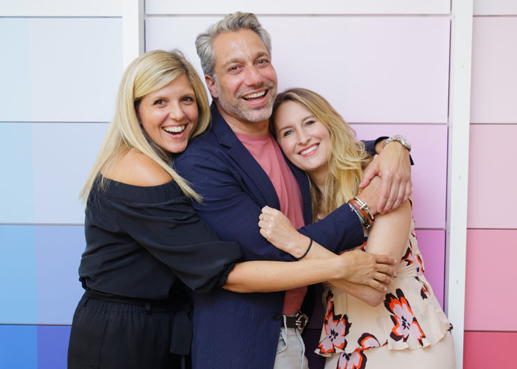 Joanna Saltz, Thom Filicia and Celerie Kemble