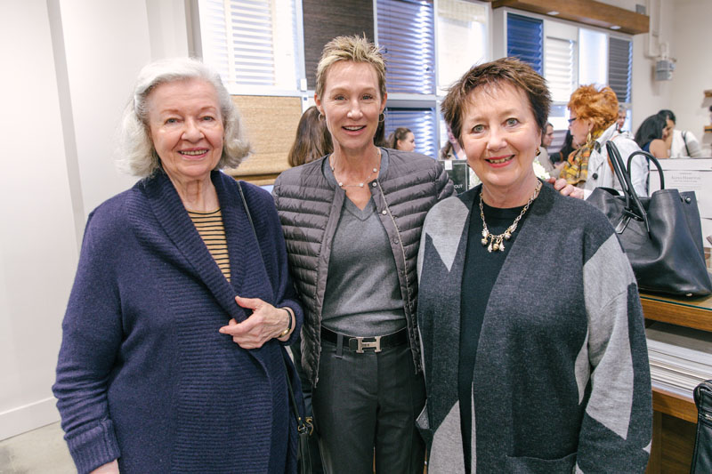 Ethel Rompilla, Michelle Jacobson and Valerie Mead