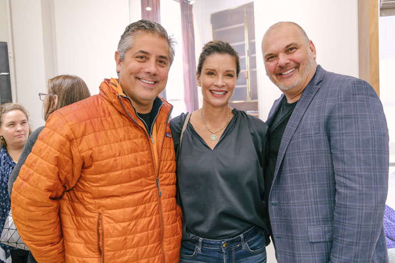 Paul Boardman, Marie Aiello and Lawrence Levy