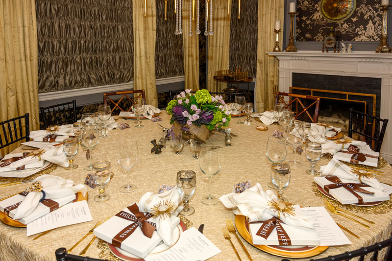 The dinner was presented in partnership with Phillip Jeffries.