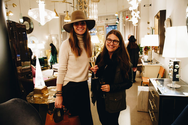 Sarah Mendel and Risa Pally of Cochineal Design