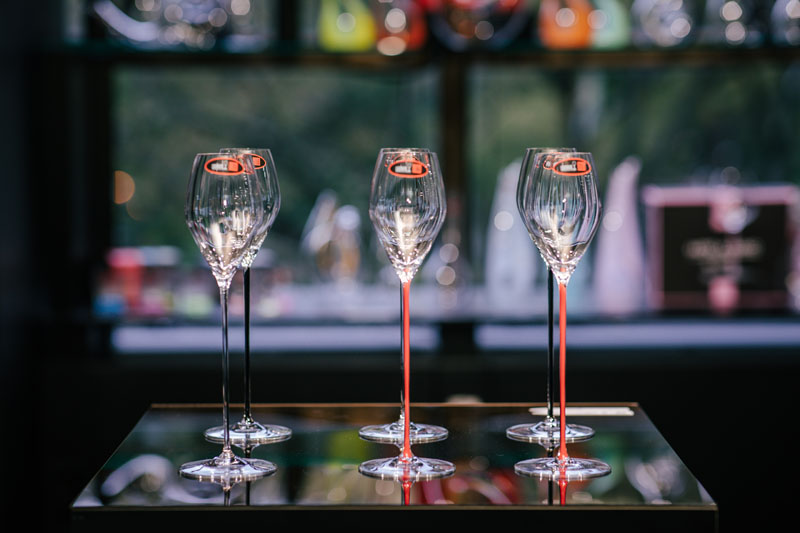 Riedel's high-performance stemware