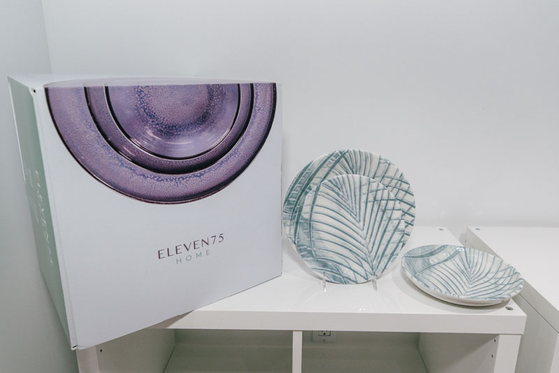 Eleven75 Home debuted at The New York Tabletop Market.