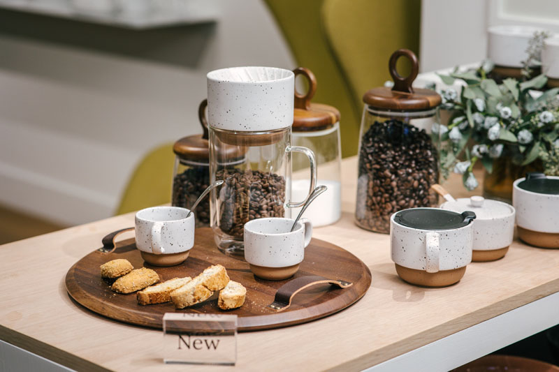 Dansk and La Colombe's Koffie collection