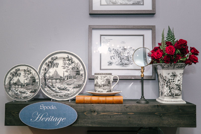 Spode's Heritage collection celebrates the brand's 250th anniversary.