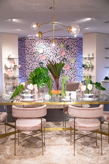 The Kate Spade New York display in the Lenox showroom