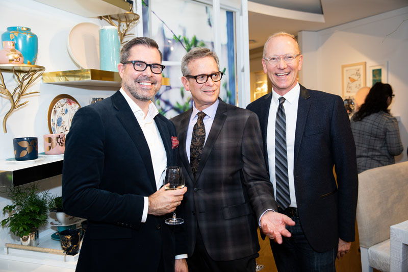Jon Walker from Hearst with Barry Goralnick and Keith Gordon of Barry Goralnick Architecture and Design