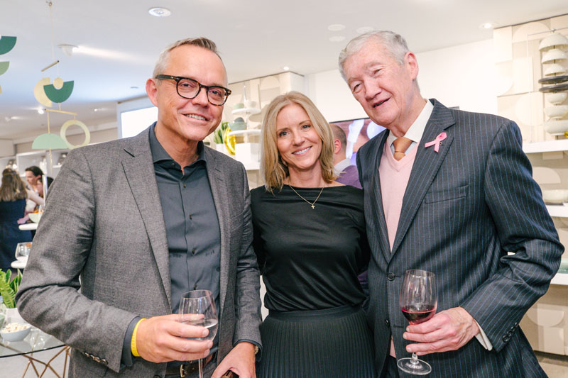 Lenox Corporation CEO Mads Ryder, Forty One Madison director and senior vice president Kristi Forbes, and former Lenox Corporation CEO Peter Cameron