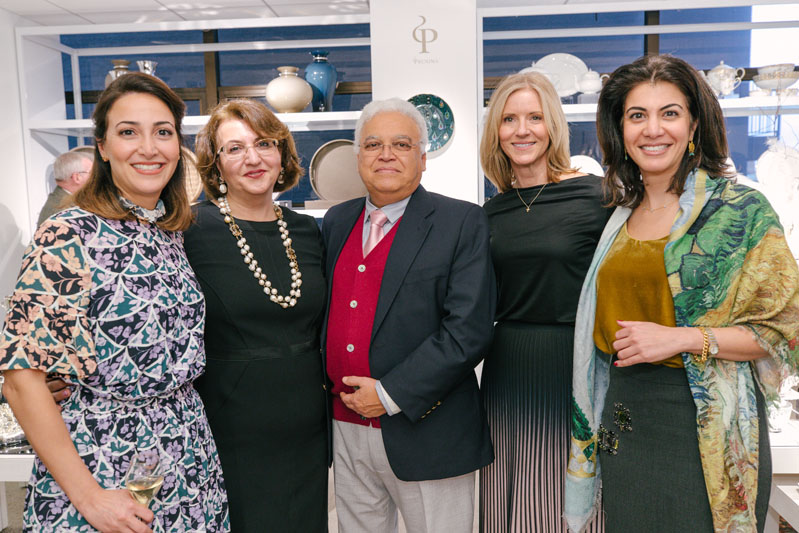 Sisters and Kiyasa Group founders Yasamin and Kiana Bahadorzadeh and their parents were joined by Kristi Forbes to celebrate the brand's 10th anniversary.