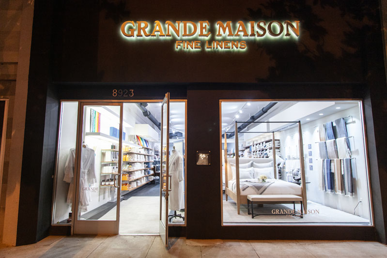The celebration was hosted at Grande Maison in West Hollywood.