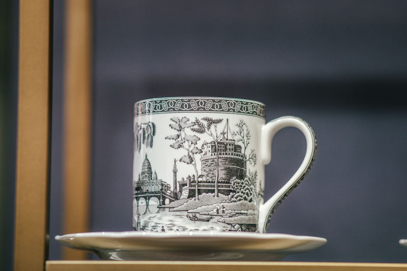 In honor of Spode's 250th anniversary, the Heritage collection evokes a medley of archived patterns.