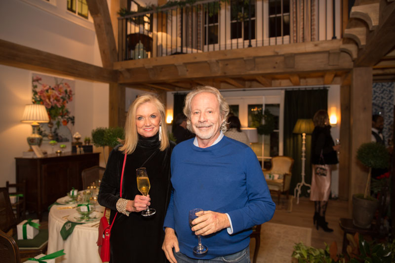 Gina Christman of Atlanta Homes & Lifestyles and Bill Harrison of Harrison Design