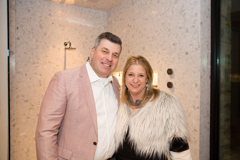 Marcel Olariu of Kingdom Woodworks and Tish Mills Kirk of Tish Interior Design