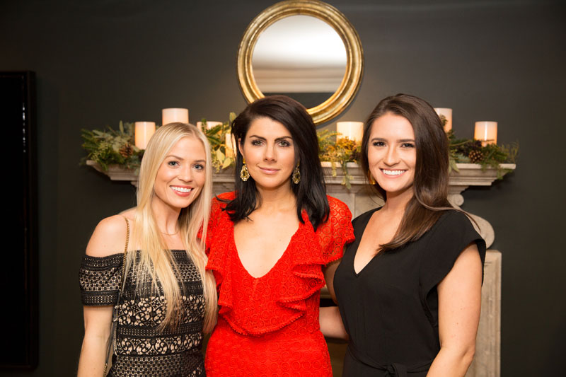 Emily Kirkland, Anna Braund and Kaitlyn Moore of Anna Braund Interiors
