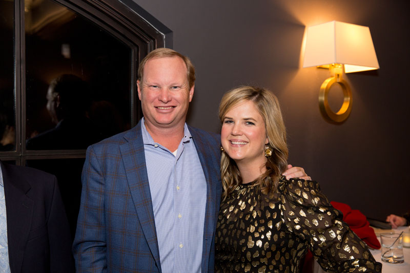 John Ralls of Fidelity Investments and Elizabeth Ralls of Atlanta Homes & Lifestyles