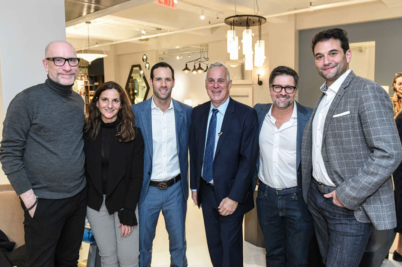 Robert Hedstrom, Marie Montera Hinchclife, Justan Orlansky, Dennis Miller, Marcus Hutcheson and Alexander Purcell Rodrigues