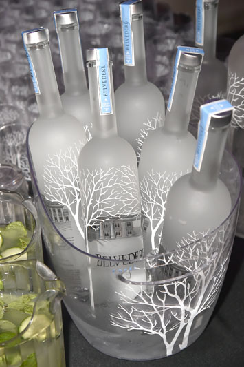 Belvedere Vodka sponsored the event.