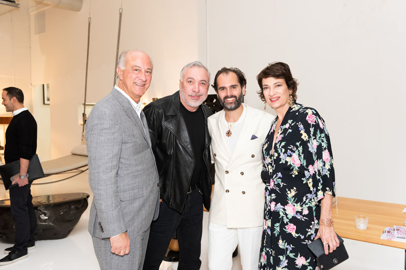 Ralph Pucci, Sig Bergamin, Whitney Robinson and Maryanne Grisz
