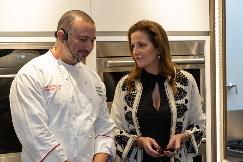 Chef Vinnie Balducci and Amy Vermillion
