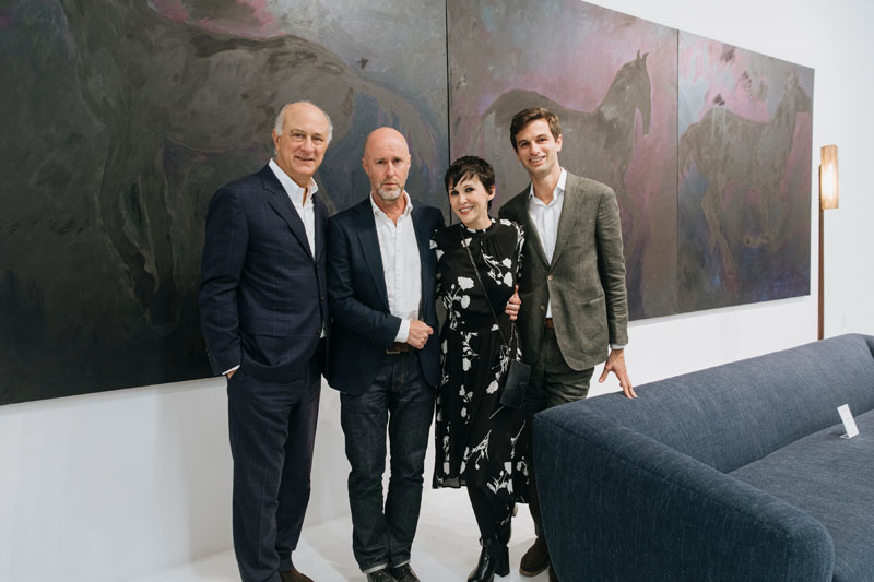Ralph Pucci, Jeff Quinn, Marjorie Salvaterra and Michael Pucci