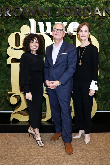 Pamela Jaccarino, Stephen Elton and Kate Kelly Smith