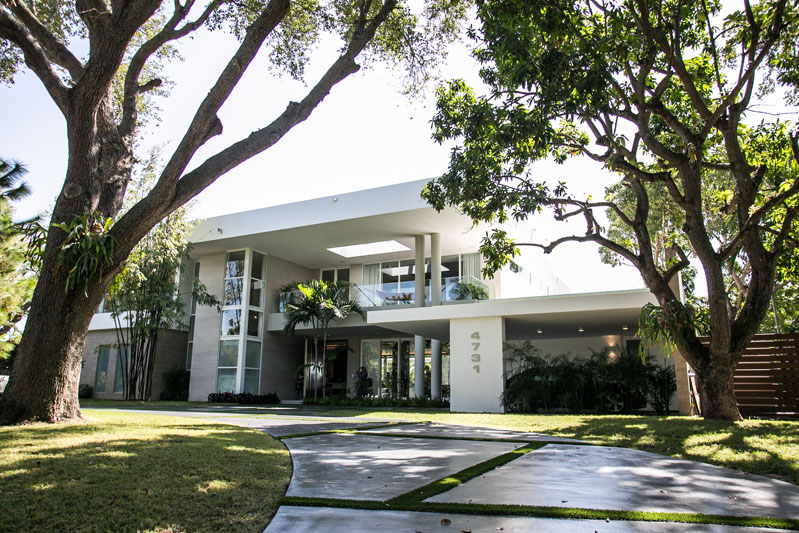 The Bay Point private estate toured on Luxe's Honoree Day in Miami