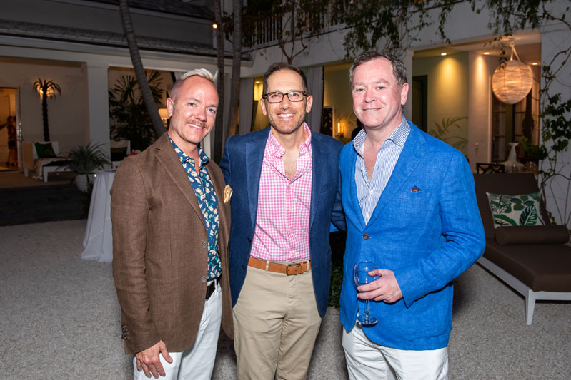 Michael Foncannon, Jason Pucci and Bob Carey