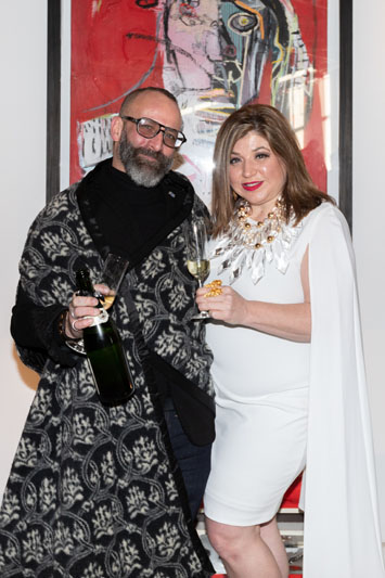 Andrew Joseph and The Antiques Diva, Toma Clark Haines