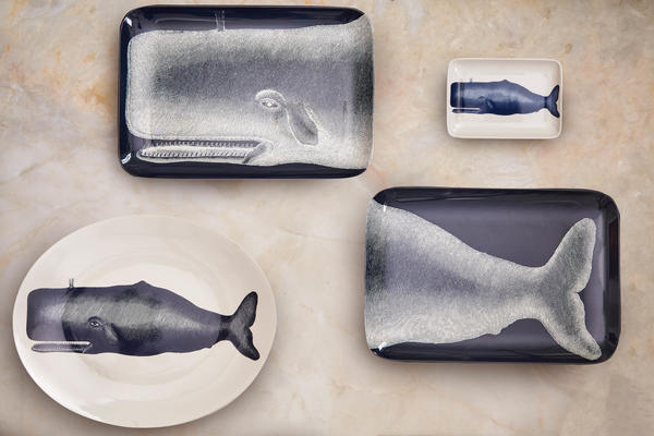 Two Piece Whale Tray