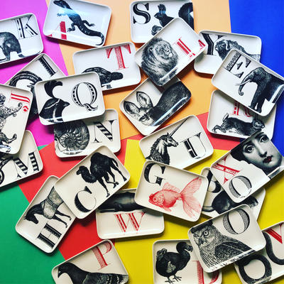 Alphabet Trays