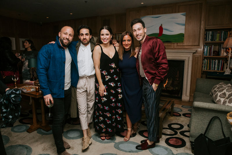 Ryan Weiss of 'Waking Up With Ryan,' Jake Alexander Arnold, Sophia Bush, Jennifer Lambros and Orie Prince