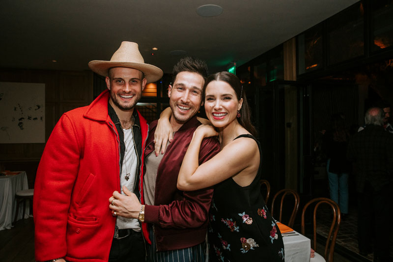 Nico Tortorella, Orie Prince and Sophia Bush