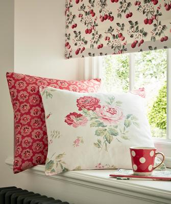 Cath Kidston's Gazelle, Caswell and Flawless Cherry patterns