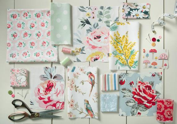 Cath Kidston fabric swatches