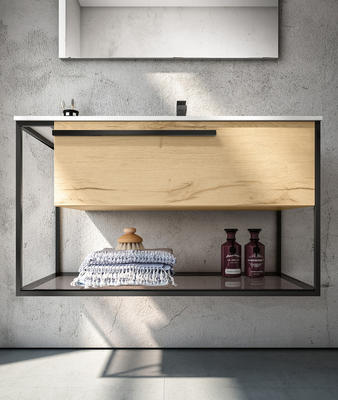 The Underground Collection Wall Mounted with Storage Shelf