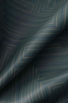 Detail of Rhapsody leather in Teal