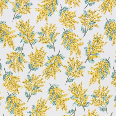 Detail of Mellow fabric in Lemmon
