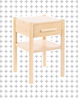Small Lombardy Nightstand in Natural