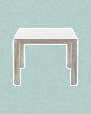 Noyac Side Table in Gray Oak