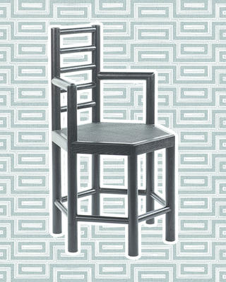 Tamarisk Chair in Black