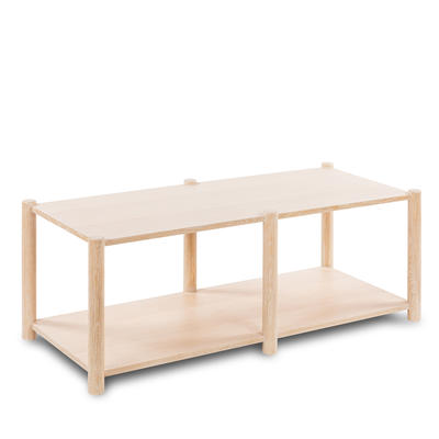 Small Loma Coffee Table in Whitewashed Oak
