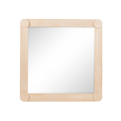 Manila Mirror in Oak, available in two sizes