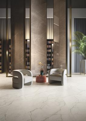 Royal Marble in White and Beige