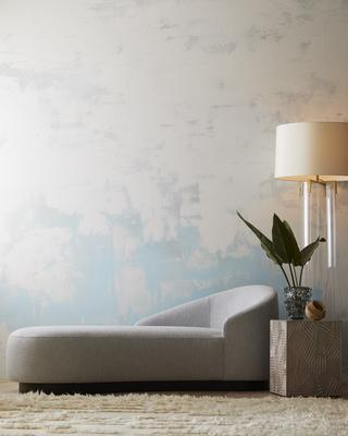Modern Playa with the Dale Floor Lamp, Turner Chaise, Domenica Vase and Marsh End Table