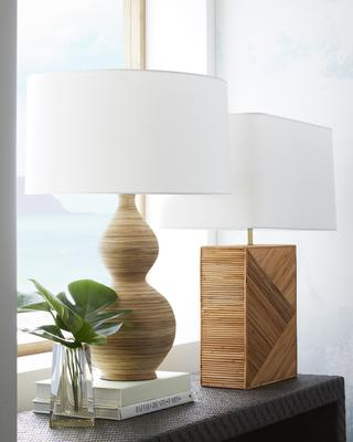 Donna Lamp and Domingo Lamp